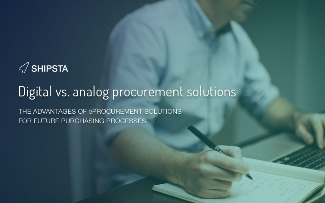 Digital vs. analog procurement solutions