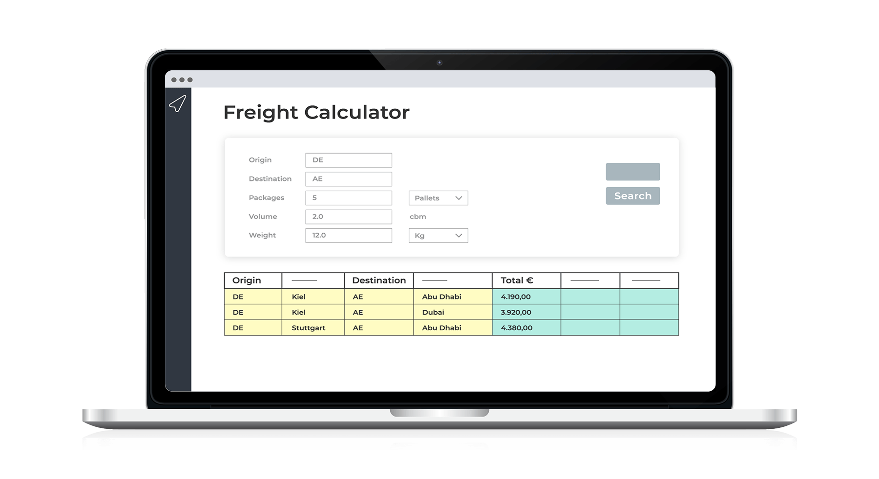 Freight Calculator